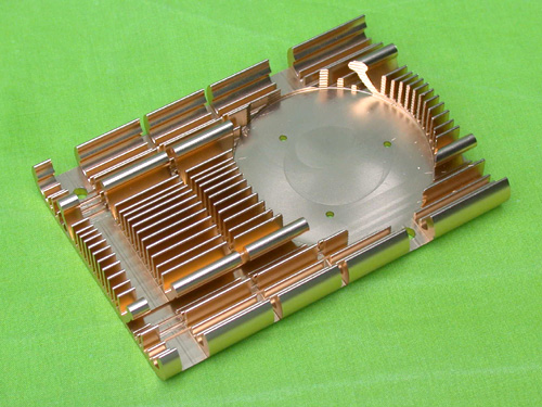 CNC Aluminum Heat Sinks for VGA Card