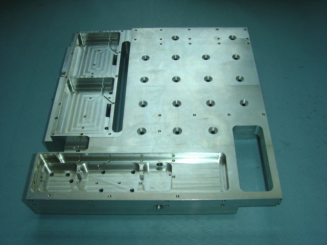 Extrusion CNC Machining Cold Plate