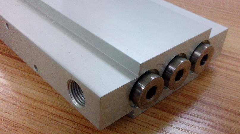 Liquid Cold Plate With Aluminum Extrusion and Deep Holes