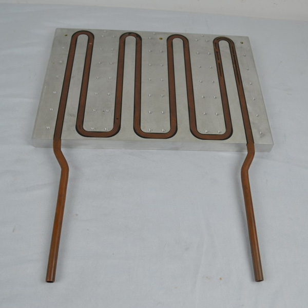 Copper Pipes With Aluminum Base With High Press Process Contact