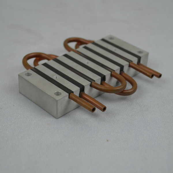 Small Liquid Cold Plate With copper Pipes