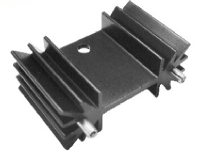 Extrusion Board Level Heat Sink Solution