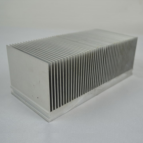High Fins Desity Extrusion Heat Sinks