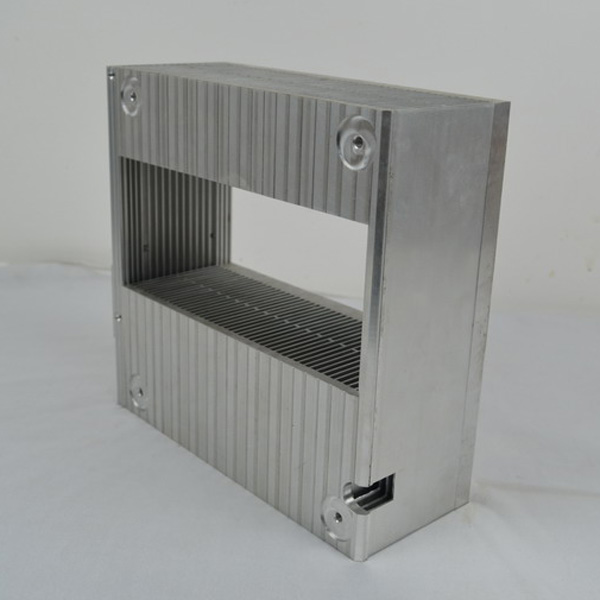 Big Aluminum Extrusion Fins Heat Sink