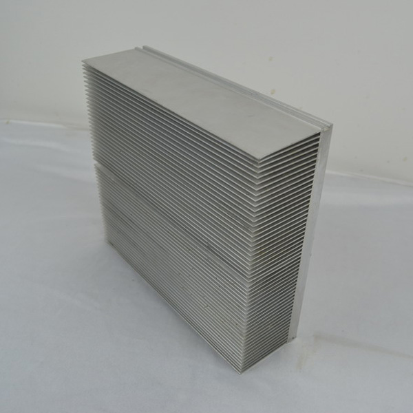 Aluminum Extrusion Swage Process High Fin Desity Solution